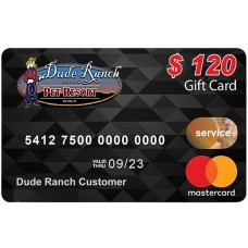 $120 Service Gift Card